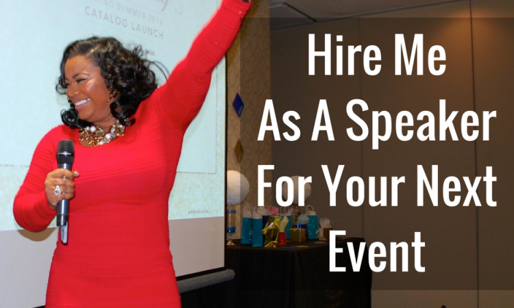 Hire MeAs A Speaker For Your Next Event